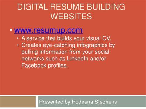 Resume Building Website Reviews by Digital Resume Building Workshop