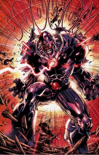 Justice League Dc Darkseid Cyborg Jla Power