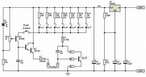 Create Hfe Tester Circuit Design As A Tool In Electronic