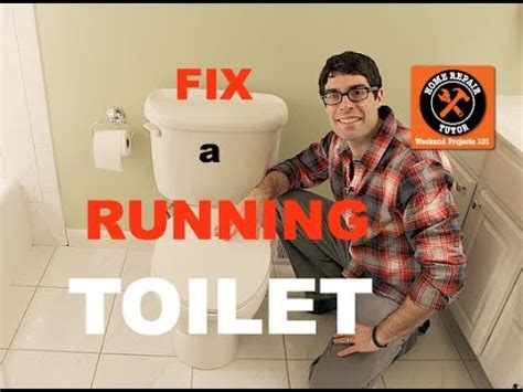 Fix A Toilet That Keeps Running  By Home Repair Tutor