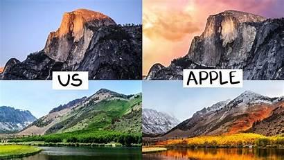 Apple Macos Wallpapers Sierra Every Recreated Wall