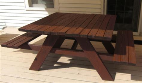 handymanwire  ft sq picnic table plans