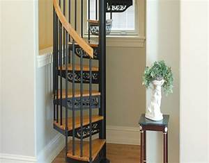 How, To, Build, A, Small, Spiral, Staircase