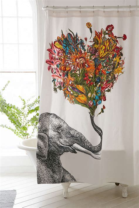 elephant shower curtain 13 elephant shower curtains you ll never forget offbeat