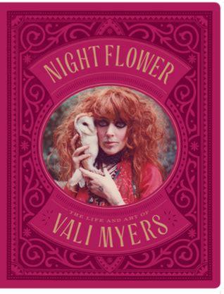 night flower  life  art  vali myers  martin