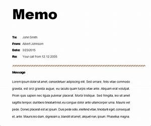 12 memo templates free sample example format free With memo to file template