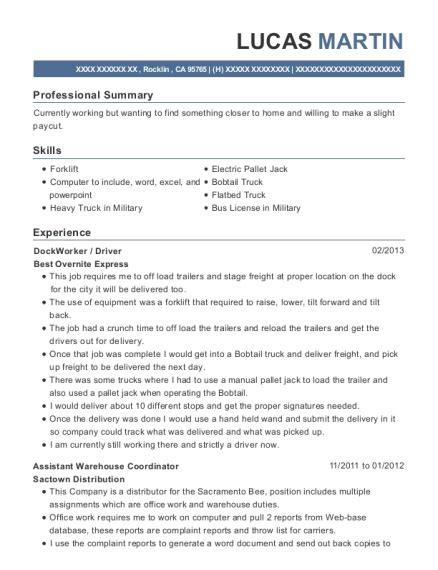 Unit Supply Sergeant Resume by Best Supply Sergeant Resumes Resumehelp