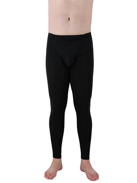 mens cotton spandex leggings quality compression gear underworks