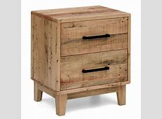 Portland Recycled Timber Bedside Table Night Stand Buy