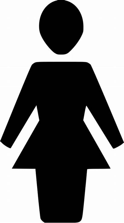 Person Symbol Icon Sign Woman Character Svg