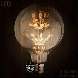 Ampoule Vintage Led : bien clairer son int rieur tous nos conseils ~ Edinachiropracticcenter.com Idées de Décoration