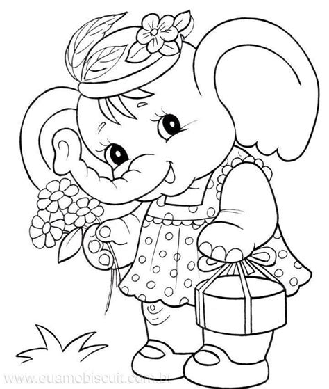 baby elephant coloring pages coloring home