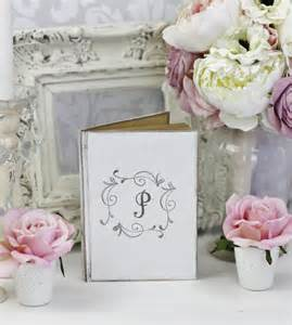 shabby chic wedding shower decor wedding guest book bridal shower shabby chic decor by