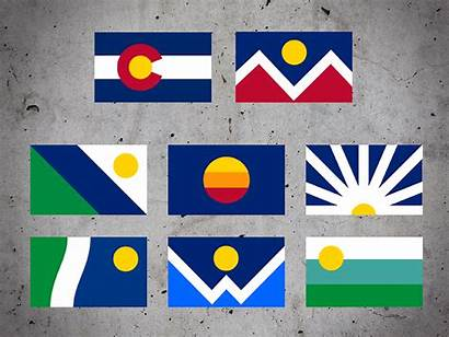 Colorado Flags Redesigned System Dribbble Springs United