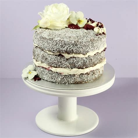 lamington layer cake  sarah bakes cakery