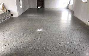 how much does a polished concrete floor cost p mac With can you sand concrete floor