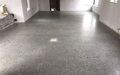 How much does a polished concrete floor cost?   P Mac