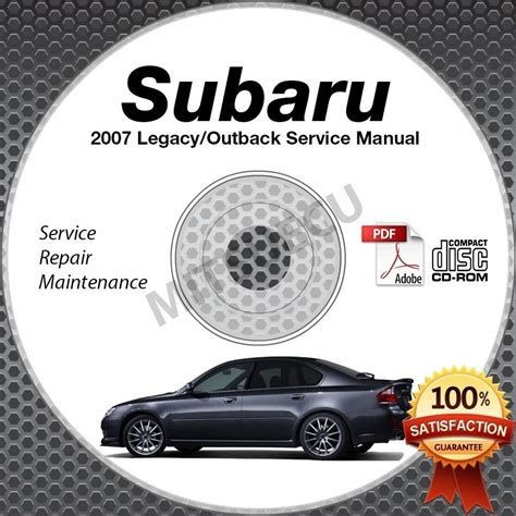 auto repair manual free download 2007 subaru legacy regenerative braking 2007 subaru legacy outback service manual cd rom 2 5l 3 0l repair shop