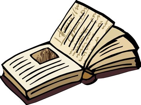 Clipart Open Book Best Open Book Clipart 17941 Clipartion
