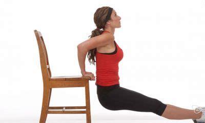 musculation avec une chaise perdre des bras en diminuant l 39 excès de graisse
