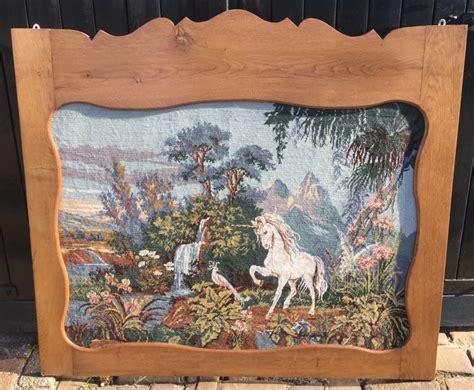geborduurd schilderij van een eenhoorn unicorn catawiki