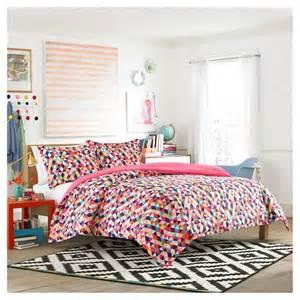 kaleidoscope comforter set red teen vogue 174 target
