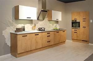 Günstige Küchen L Form : helle holzk che in l form ~ Bigdaddyawards.com Haus und Dekorationen