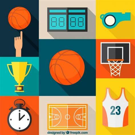 Collection D'icônes De Basketball  Télécharger Des