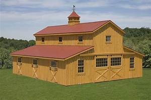 quality horse barns pine creek structures With barn roof topper