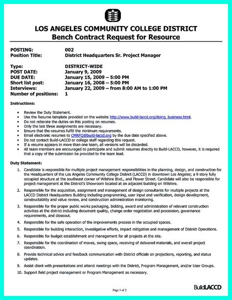 Manager Skills Resume by Cool Construction Project Manager Resume To Get Applied