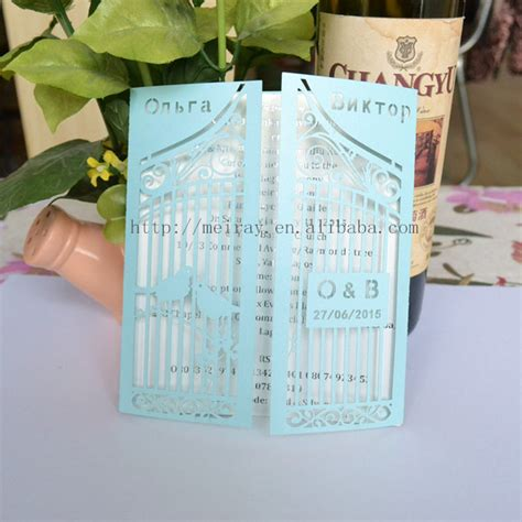 All For Wedding,birdcage Favors,custom Invitation Cards