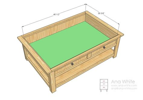 diy train table top coffee table with storage woodworking plans woodworking