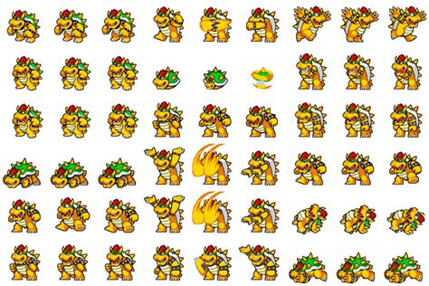 Bowser Sideview Battler By Weakfoggy On Deviantart