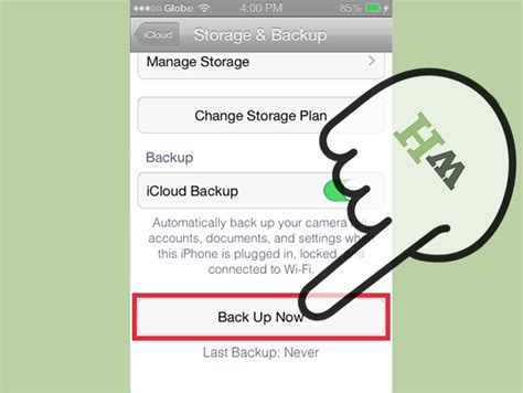 how to backup your iphone to icloud how to back up an iphone to icloud 10 steps with pictures