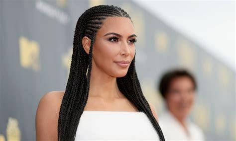 Kim Kardashian Explains Why She Wears Fulani Braids