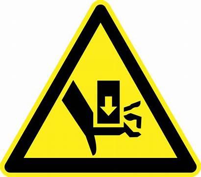 Hazard Warning Crush Danger Signs Injury Finger