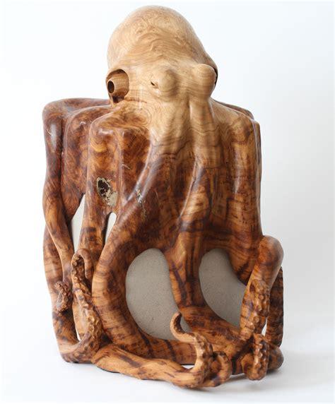 Octopus Sculpture by wildlife artist, Bill Prickett.