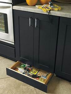 How to build a toe kick drawer diy projects for everyone for What kind of paint to use on kitchen cabinets for 3 foot candle holder