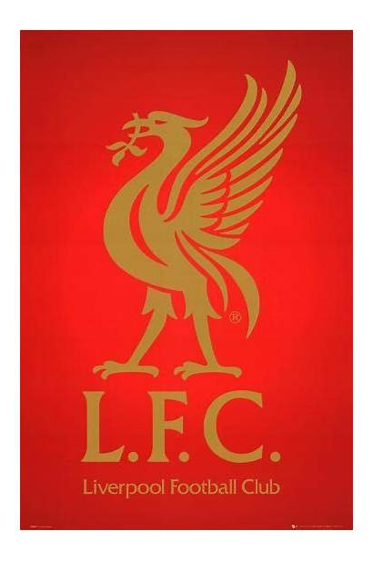 Liverpool Fc Crest Club Posters Soccer