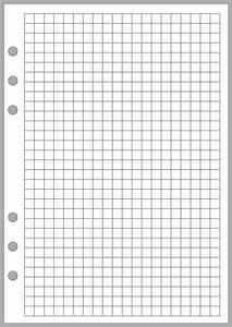 6 grid graph paper a5 graph grid paper 0 25 quot handy forms llc