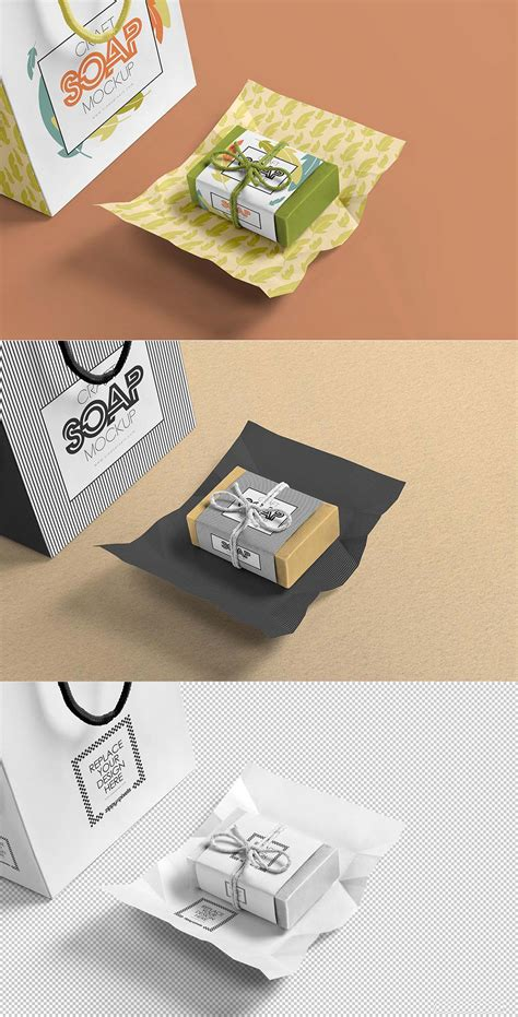 It's a psd format mockup file in 300 dpi instantly showcase your soap bar mockup design with this photorealistic soap bar paper package mockup. Free Craft Soap Bar Mockup | Mockuptree