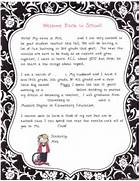 Teacher Introduction Letter On Pinterest Adhd Activities Parent Letters An A Special Sparkle Back To School Welcome Letters 25 Best Ideas About Teacher Introduction Letter On Pinterest Back To Schoo Cover Letter And Resume Writing For High School Students