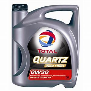 Huile De Moteur Diesel : huile moteur total quartz ineo first 0w30 essence et diesel 5 l ~ Melissatoandfro.com Idées de Décoration