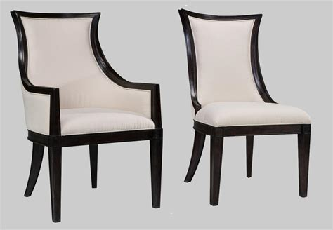 black and white upholstered dining chairs black and