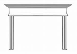 Cornelius Natural Wood Mantels For Fireplaces