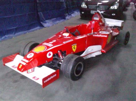ferrari formula   kart  combustion engine