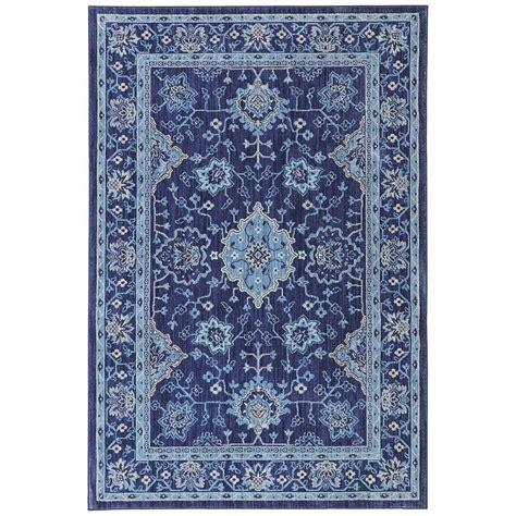 indigo area rug mohawk home parquet indigo 8 ft x 10 ft area rug 467784
