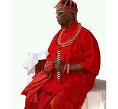 Princess Oze Erediauwa and Mr Sylvester Ebhodghe Oba of