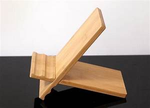 Feltu, Wooden, Ipad, Stand