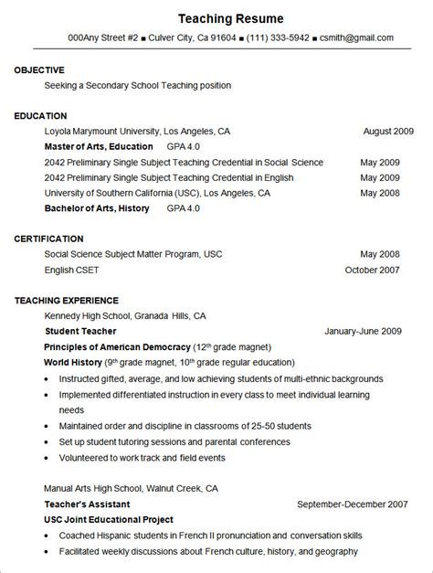 Resume Sle Templates Best Resume Formats 40 Free Sles Exles Format Free Premium Templates